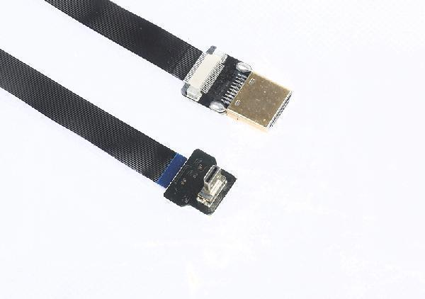 Micro cable HDMI 1080p 24k brazaletes contactos HDMI Micro type d High Speed