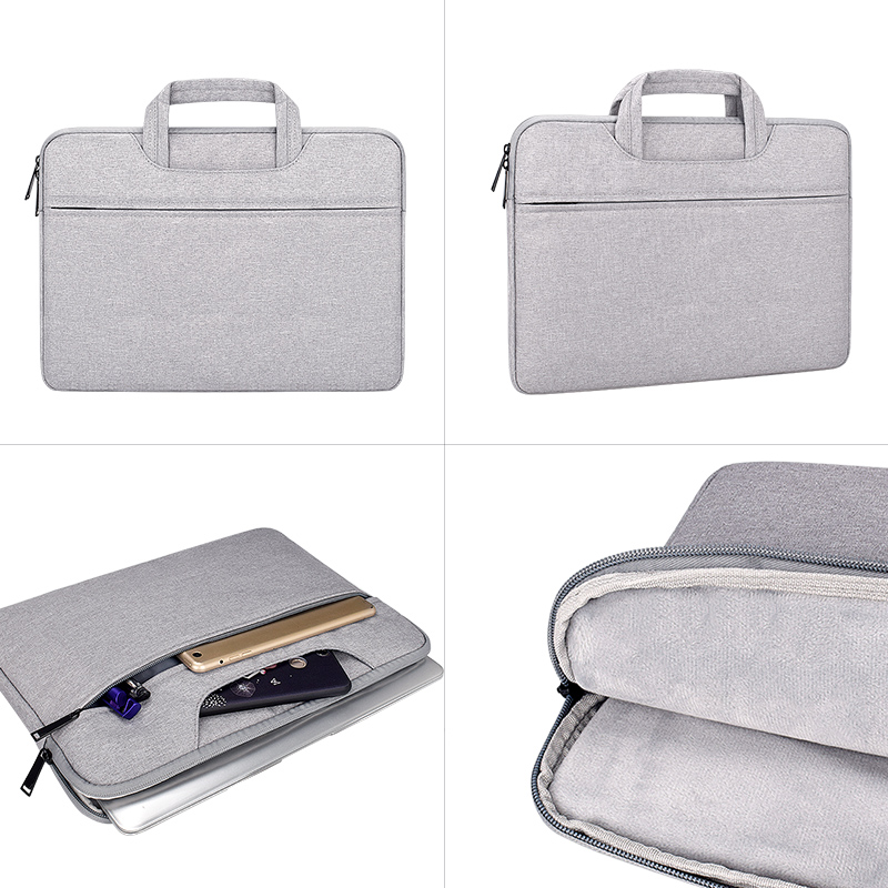 """Image 4 - Laptop Handbag Sleeve Case Protective Bag Ultrabook Notebook Carrying Case For 13' 14"""" 15"""" Macbook Air Pro ASUS Acer Lenovo Dell-in Laptop Bags & Cases from Computer & Office"""