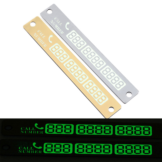 Car Temporary Parking Card Luminous Phone Number Card Plate For Nissan  Versa sunny Sylphy Livina Qashqai Teana March Tiida Juke on Aliexpress com  |