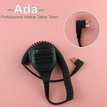 PMMN4013A 2 Pin Handheld Speaker Microphone MIC For MOTOROLA Radios EP450 GP300 GP88s GP2000