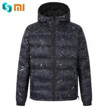 Xiaomi ULEEMARK Fashion Men's Winter Autumn Down Coat-s Men Jacket-s Parka Wearing on both sides Male Outerwear-s Thin Outerwear