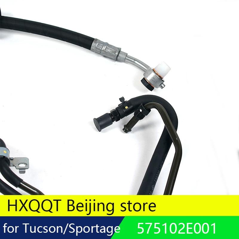 Power Steering Pressure Hose for Hyundai Kia Tucson Sportage OEM 575102E001
