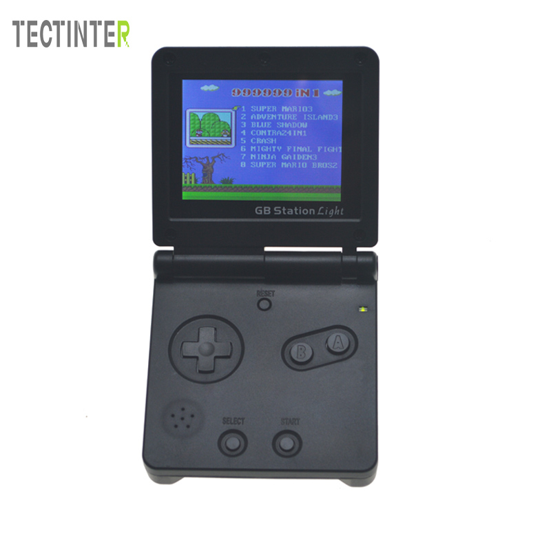 GB Station Light boy SP PVP Handheld Game Player 8-Bit Game Console with Bulit-in 142 Games Retro Style For Gaming