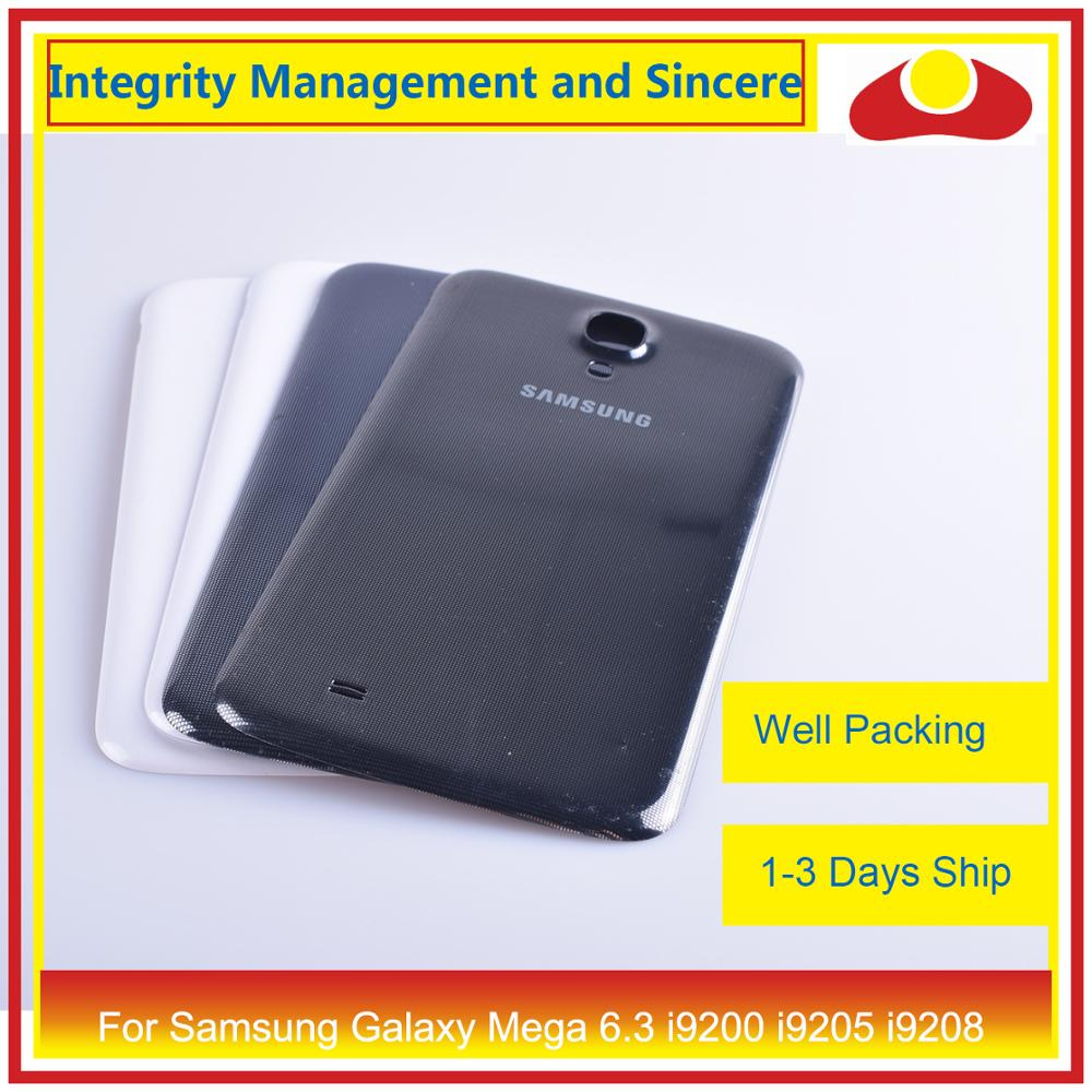 Image 5 - For Samsung Galaxy Mega 6.3 i9200 i9205 i9208 GT I9200 Housing Battery Door Rear Back Cover Case Chassis Shell Replacement-in Mobile Phone Housings & Frames from Cellphones & Telecommunications