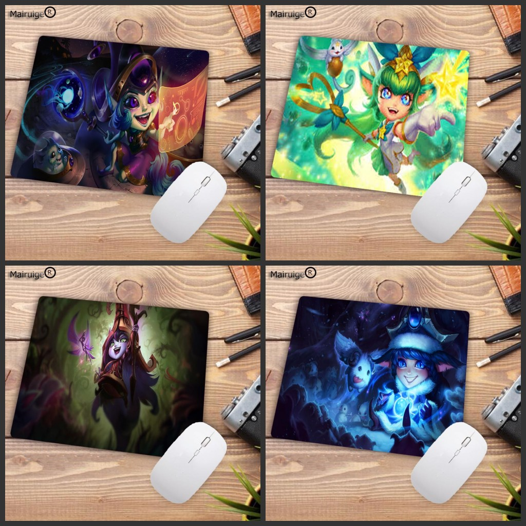 Mairuige Lulu Mouse Pad 22X18CM 25X20CM Pad Mouse Lol Notbook Computer Mousepad Gaming Padmouse Gamer Laptop Mouse Mats
