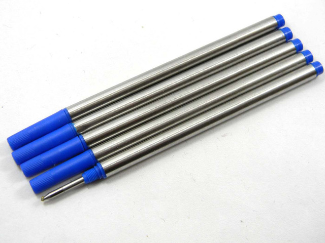 5pc Blue or 5pc black Offer Special Ink  Roller Ball Pen refills 3