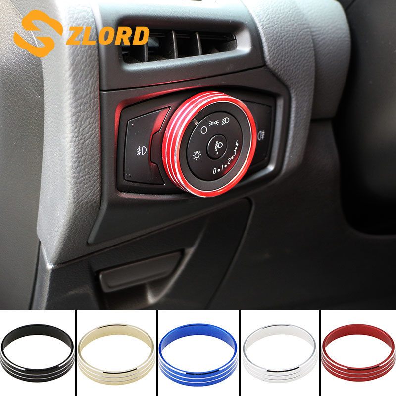 Headlight Switch Controller Knob Trim Cover Fit Ford Focus Edge Explorer Kuga