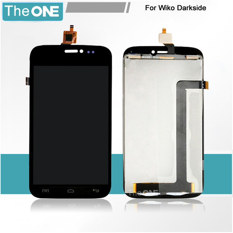 ФОТО 100% Test For Wiko Darkside LCD Screen With Touch Screen Digitizer Assembly Free Shipping