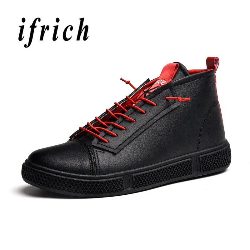 Décontractées L'usure Rouge Noir Confortable Hommes Chaussures À dhQBxtCsr