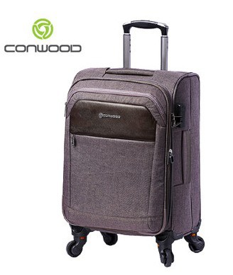Conwood FREE SHIPPING 20 24 28 inch soft shell 4 Removable wheels ...