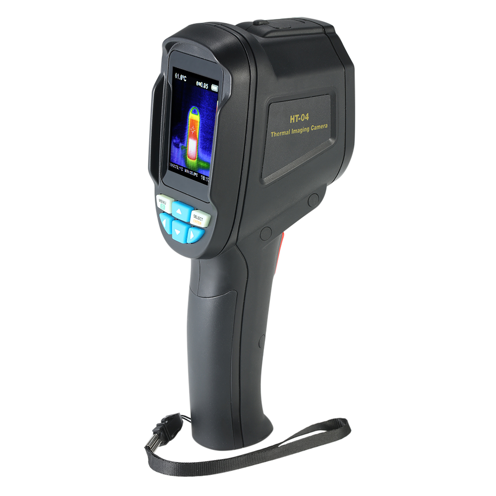35200 Pixel Traffic Color Display Thermal Imager Medical 3.2 Screen Temperature Heat Detector Infrared High Resolution Portable Temperature Instruments