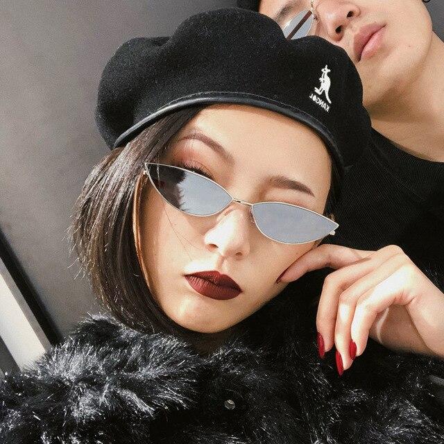 1f2384a6832 Round Sunglasses Women 2018 Oval Sunglasses Small Glasses Vintage Ladies  Sunglasses Luxury Metal Frame Okulary For Festival