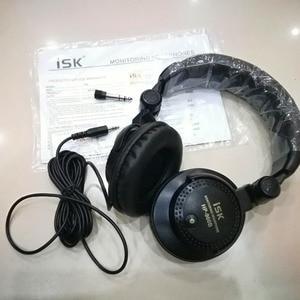 Image 5 - Brand new original ISK HP 960B Over ear Professional Headphone 3.5mm Studio Monitor Dynamic Stereo DJ HD Headsets music Earphone