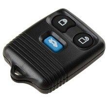 Substituição Remoto Chave Auto Para Ford Transit MK6 2000-2006 Com Bateria E Chip De 3 Botões Chave Do Carro Preto substituições