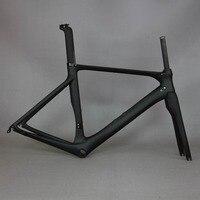 Carbon Road Bike Frame Carbon Fibre Road Cycling Bicycle Frameset Oem Brand Frame Clearance Frame Fork