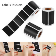 300 Pcs/Roll Tahan Air Label Stiker Papan Tulis Bumbu Dapur Papan Tulis Label Stiker Jam Botol Kategori Spidol(China)