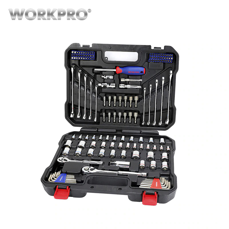Set of tools 145 pcs WORKPRO W003046AE Wrench Tool Box Tool Set of Tools