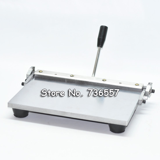 Sale 350mm Manual leather folding machine for paper leather PU sheet Leather creasing machine
