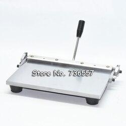 Vendita 350mm Manuale macchina per la carta di cuoio piegante foglio cuoio DELL'UNITÀ di elaborazione di Cuoio cordonatura macchina