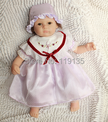 Cheap for sale Baby Reborn Dolls silicone reborn babies Fashion toys handmade simulation doll for girls and boy pair of stylish rhinestoned round drop earrings for women