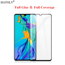 Huawei P30 Pro Glass 3D Curved Edge Tempered for Full Cover Glue Phone Screen Protetor For