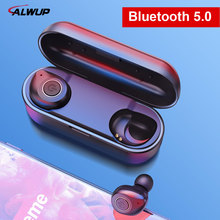 UP6 Wireless Headphones TWS Bluetooth 5.0 Earphone Stereo Headset IPX5 Waterproof Sport Earbuds with Dual microphone for Phone bluetooth earphone 5 0 mini tws wireless stereo headphone ipx5 waterproof sport headset earbuds with dual microphone