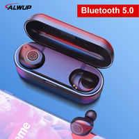 UP6 casque sans fil TWS Bluetooth 5.0 écouteur casque stéréo IPX5 étanche Sport écouteurs avec double microphone pour téléphone