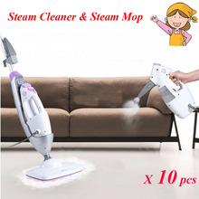 10pcs/lot Handheld Steam Cleaner & Steam Mop Combo Comprehensive Decontamination Sterilization with 340ml Water Tank 7688M