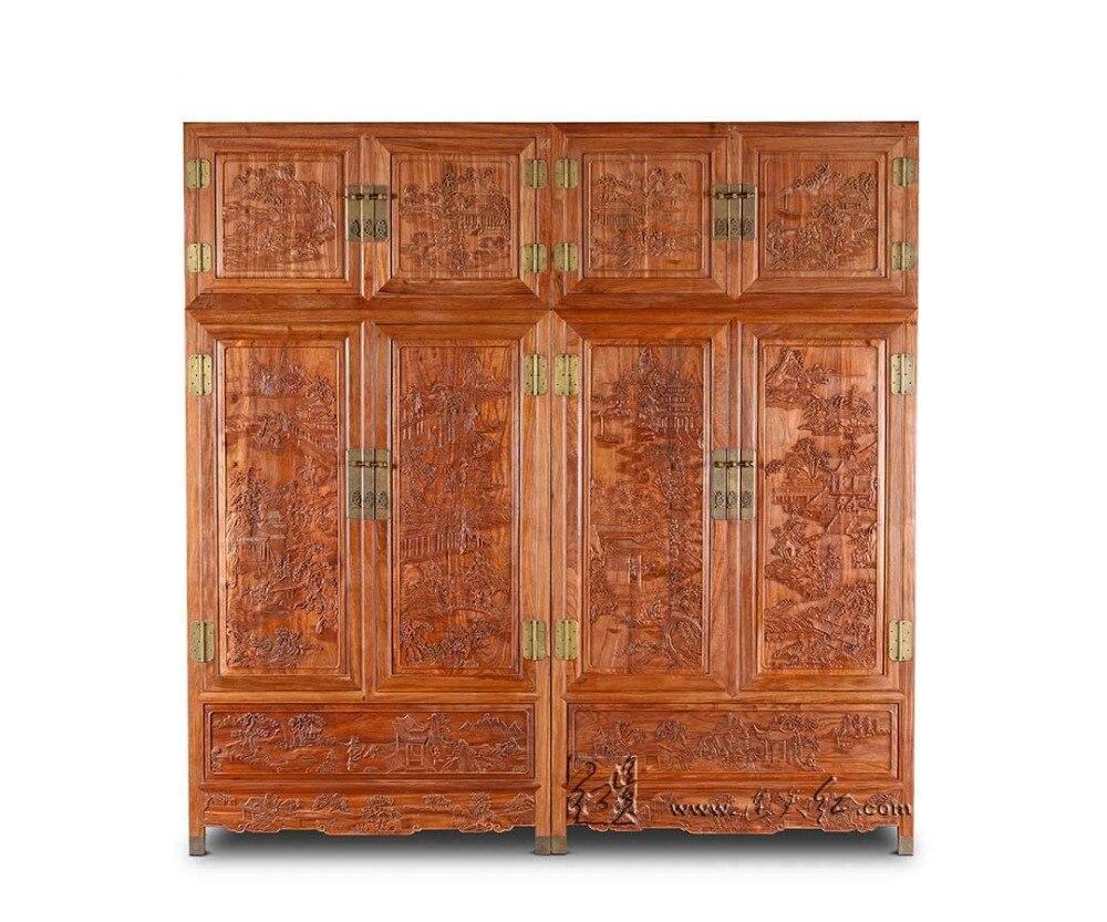 Новый Clothespress палисандр Carven номер мебель из массива дерева шкаф американский кантри Almirah шкаф Redwood ящиками