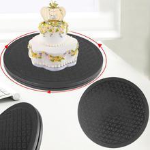 Кухонная тарелка для торта, Вращающийся поворотный стол для торта, десерта, вращающаяся подставка для декора, платформа, Круглый Вращающийся Поворотный инструмент для Рождественской Выпечки