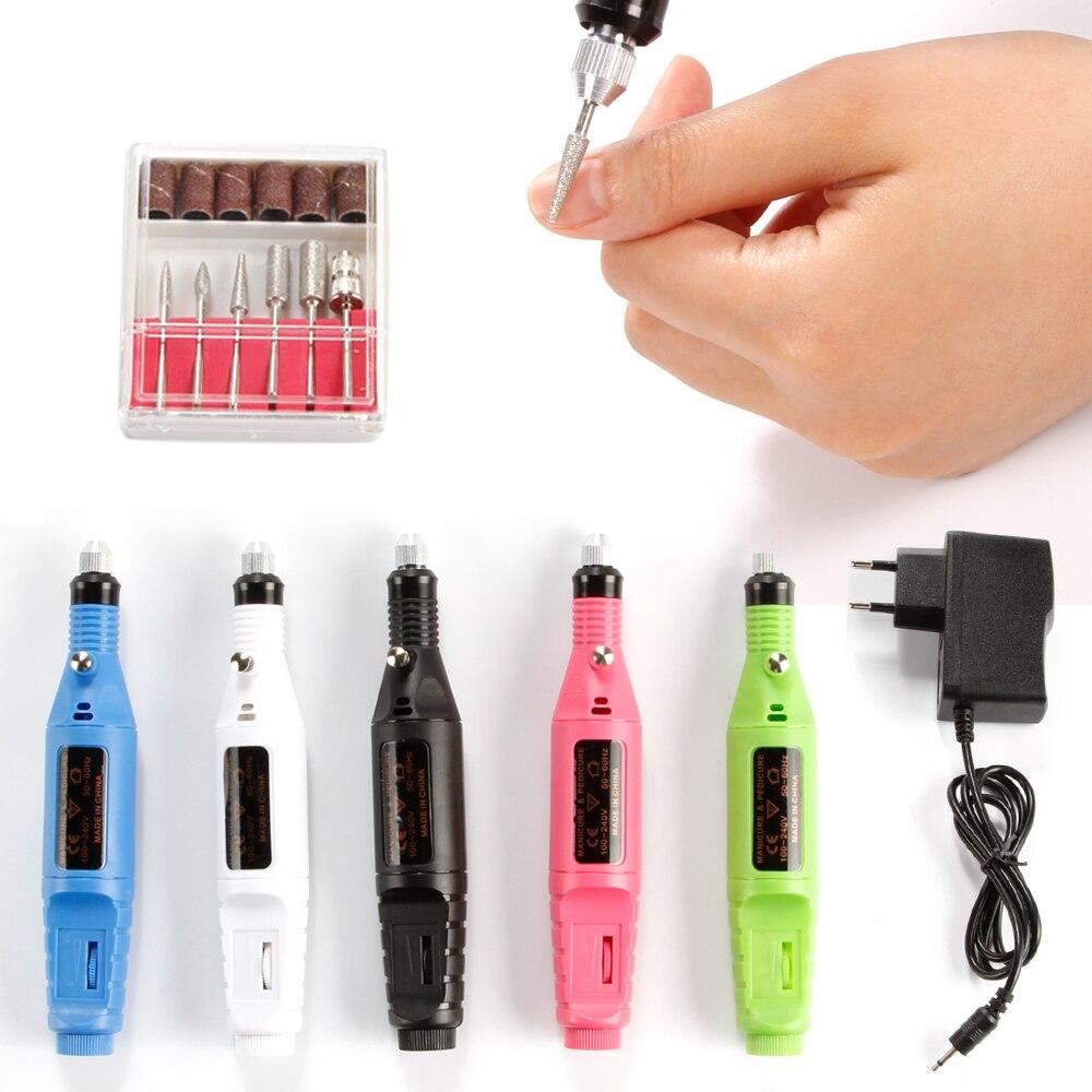 Nail Electric Apparatus for Manicure US/EU Pedicure Machine Milling ...