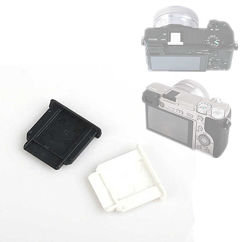 Almencla 5 Packs Hot Shoe Hotshoe Protector Cover Cap for//Canon//Sony DSLR-Black