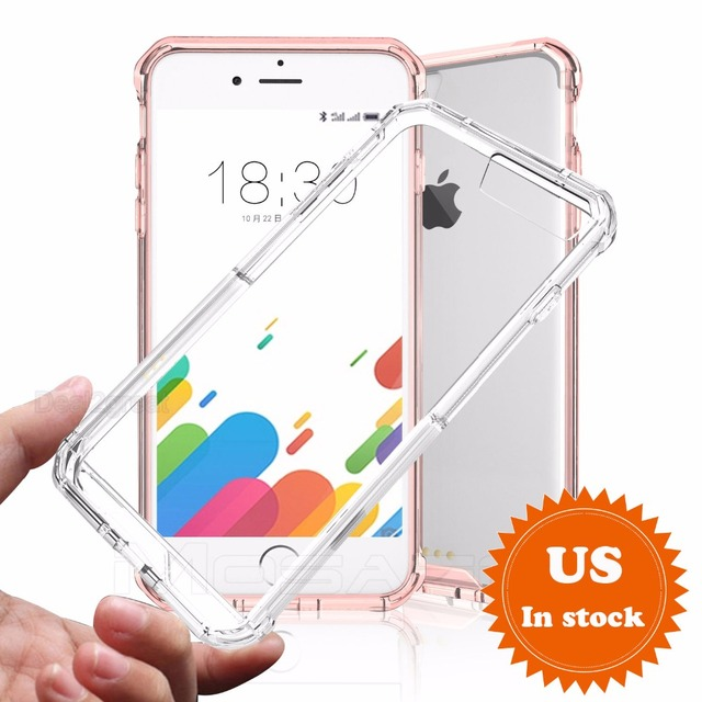 SuaGet 7 Case Ultra Slim Arcylic Shockproof For Apple iPhone 7/8 Plus Cover Hybrid