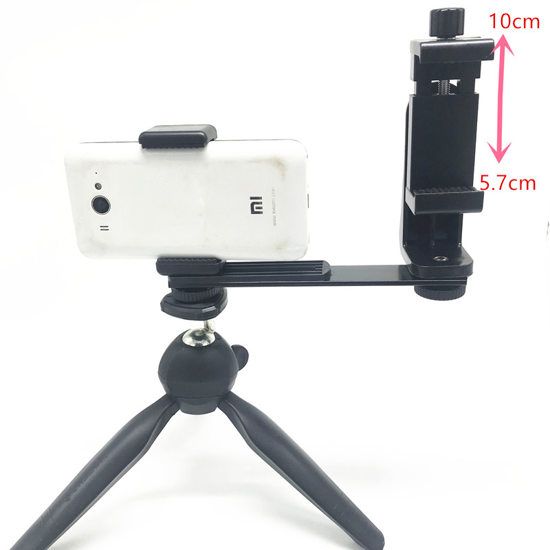 Phone Video Stabilizer Handheld Smartphone Video Shooting Equipment Filming Video Live Streaming Mount Holder Grip Tripod