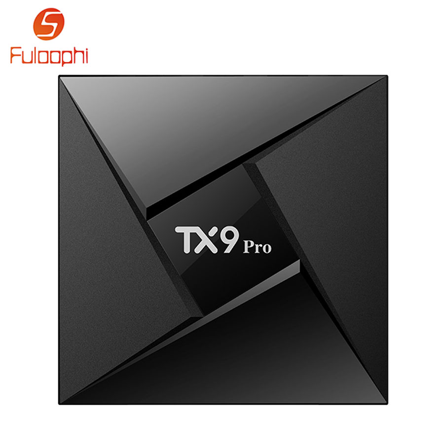 TX9 Pro Android 7.1 TV Box 3GB RAM 32GB ROM Amlogic S912 Octa-core Smart Set-top Boxes Bluetooth 1000M LAN 4K HDMI Media Player