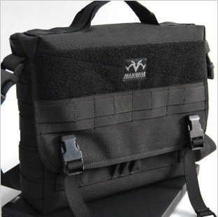 Maxgear MPB-9 Dispatch bag | Nylon waterproof 12inch Laptop Bag | Military Laptop Bag With Molle System