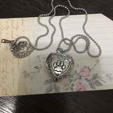 Locket Pendant Necklace for Dog Lovers