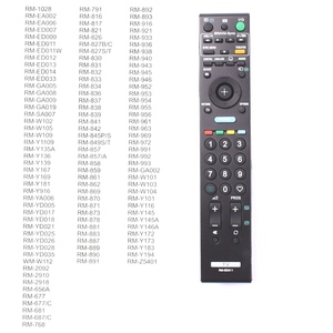 Image 3 - remote control for SONY Bravia TV RM ED009 RM ED011 rm ed012 , universal RM ED011 controller for Sony smart LED LCD HD TV.