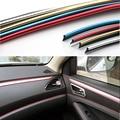 HUANLISUN 6 M Interior Exterior Moulding Trim Para Coche Universal Car Styling Flexible PVC Tira Decorativa