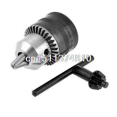 B16 Taper Mount 1.5-13mm Capacity Metal Driller Spanner Drill Chuck
