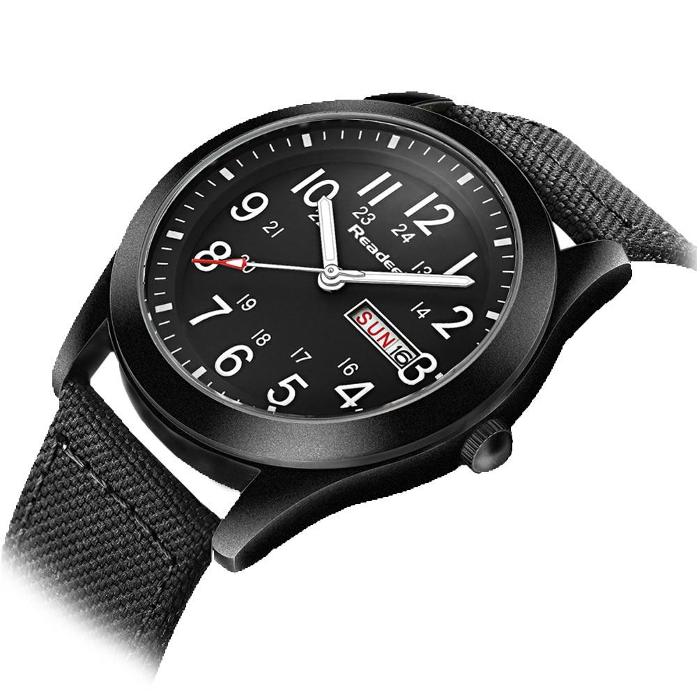Readeel Brand Fashion Men Sport Watches Men's Quartz Hour Date Clock Man Military Army Waterproof Wrist watch kol saat erkekle 2