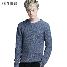 2016 Brand Clothes Round Collar Pullovers Male Han Edition Cultivate One's Morality Men's Sweaters Render Unlined Upper Garment