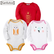 Sanlutoz Baby Rompers Set Newborn Clothes Baby Clothing Boys Girls Brand Cotton Jumpsuits Long Sleeve Overalls Coveralls Winter