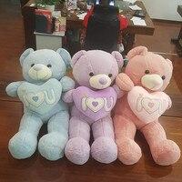 Новые Мягкие Мишка мягкая плюшевая игрушка обнимает Медведь кукла Счастливый День Святого Валентина подарок
