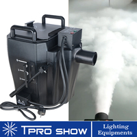 3500W Smoke Machine Ground Fog Machine Spread Dry Ice Low Lying Fog Effect For Wedding Event Party DJ Light Show
