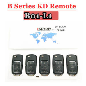 Free shipping (5 pcslot)KD900 remote key B01 Luxury  3 Button B series Remote control for URG200KD900KD900+ machine