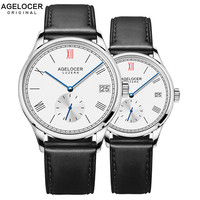 Agelocer бренд класса люкс механические часы мужской женский любителей часы для женщин для мужчин часы час платье браслет часы Relogio Masculino