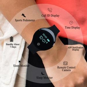 Image 4 - JQAIQ Fitness สมาร์ทสร้อยข้อมือกิจกรรม Tracker Pedometer บลูทูธ Oled สมาร์ทสายรัดข้อมือสำหรับ Android Ios Smartphone