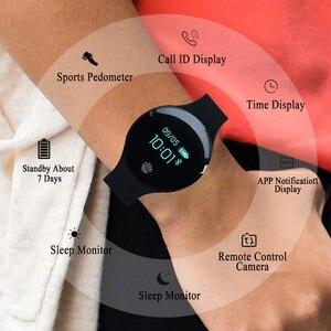 Image 4 - Pulsera inteligente JQAIQ a la moda para Fitness banda de seguimiento de actividad podómetro Bluetooth Oled pulsera inteligente para teléfono inteligente Android Ios