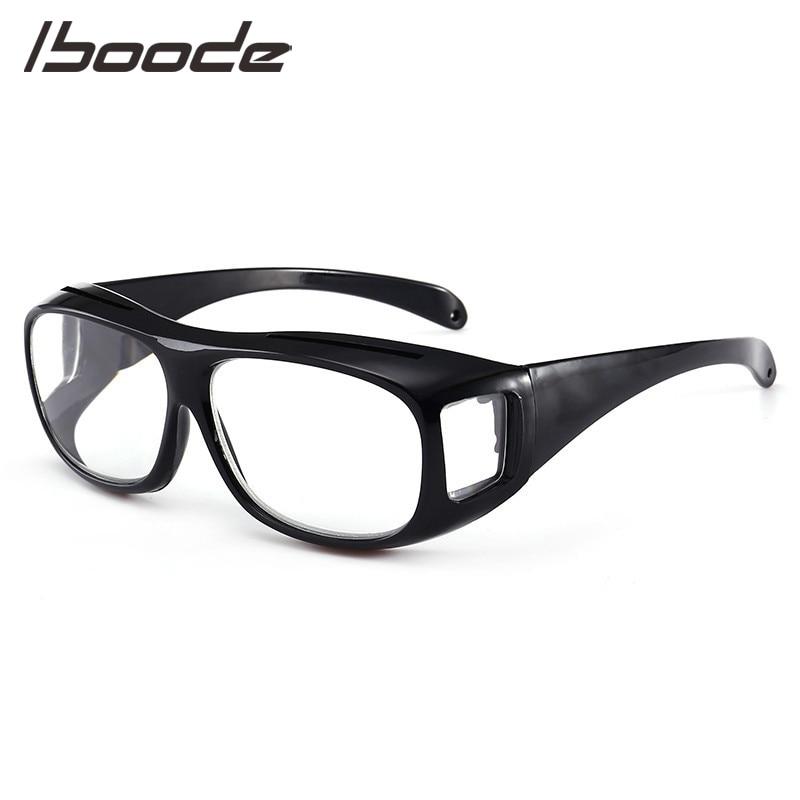IBOODE Big Vision Magnifying Reading Glasses 1.6 Times +250 Unisex Presbyopic Eyeglasses 1.8 Magnifies Eyewear +300 Magnifier(China)